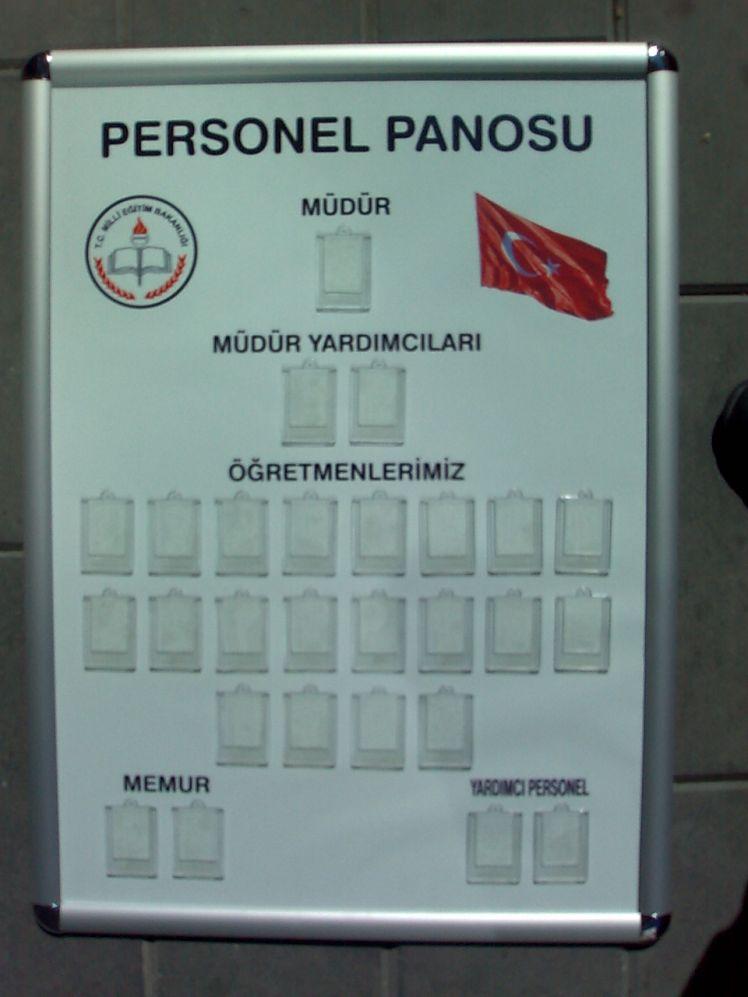 Personel Panosu